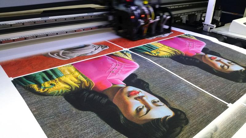 Digital textile printing artlab for Fabric printing